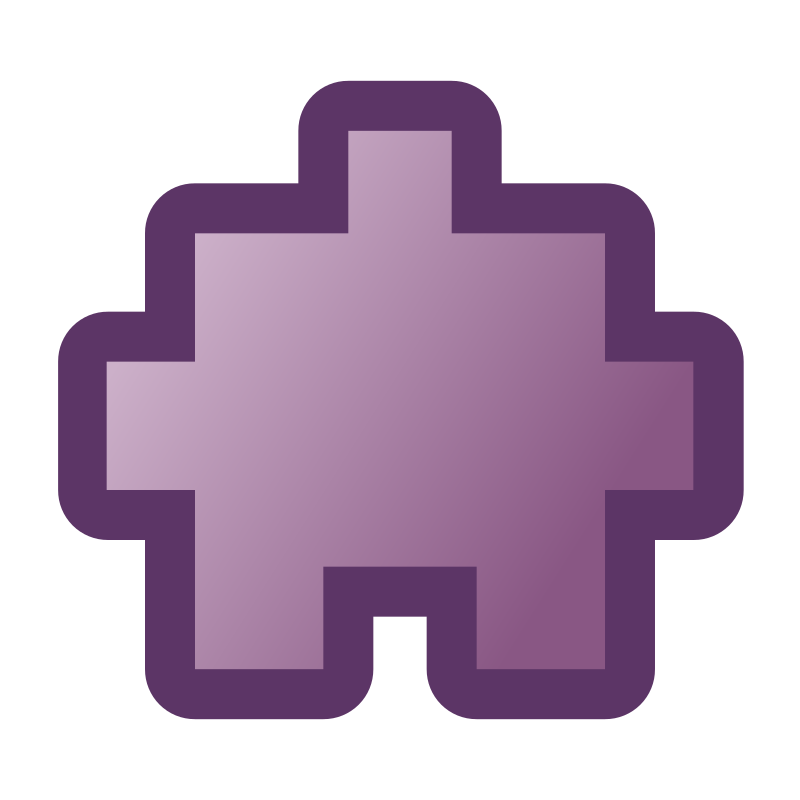 icon_puzzle2_purple by jean_victor_balin