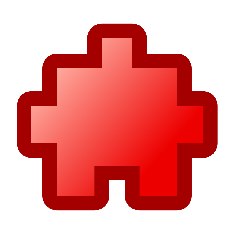 icon_puzzle2_red by jean_victor_balin