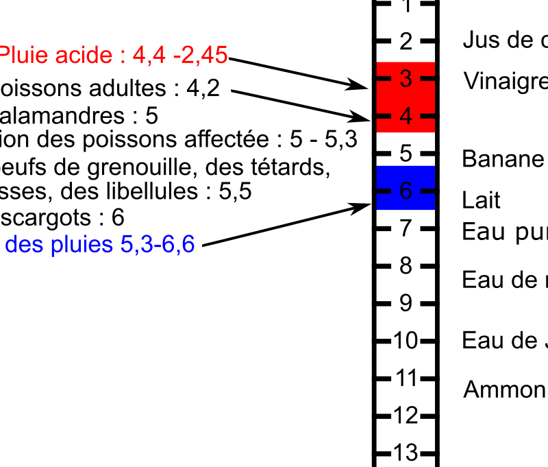 Echelle des pH by laurenth2 - A science chart