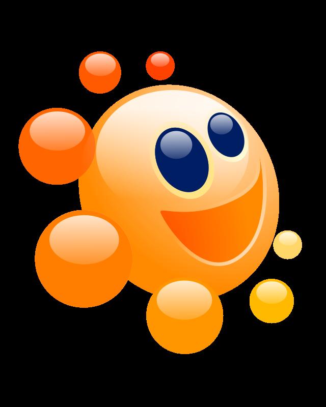Clipart - Icon Happy Sun Candy