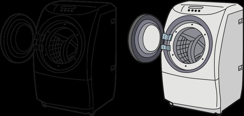 Clip Art Washing Machine ~ Clipart washing machine