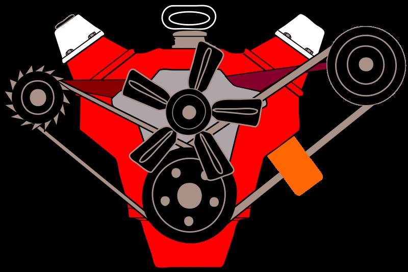 V8 Engine Clipart Clipart - v8 engine
