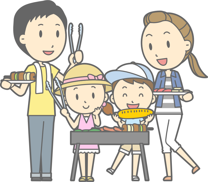 clipart family barbecue   2 family clip art pictures family clip art black and white