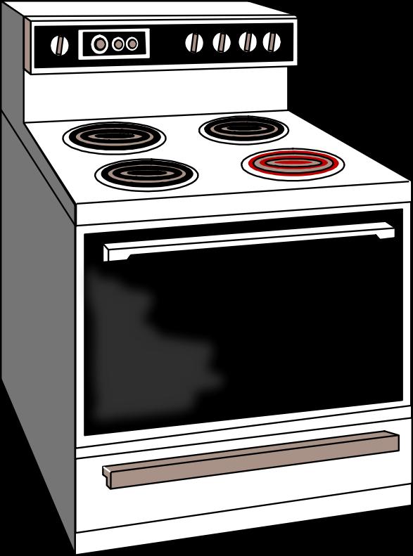 Oven Clip Art ~ Clipart stove