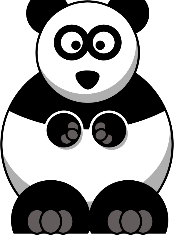 Cartoon Panda by StudioFibonacci