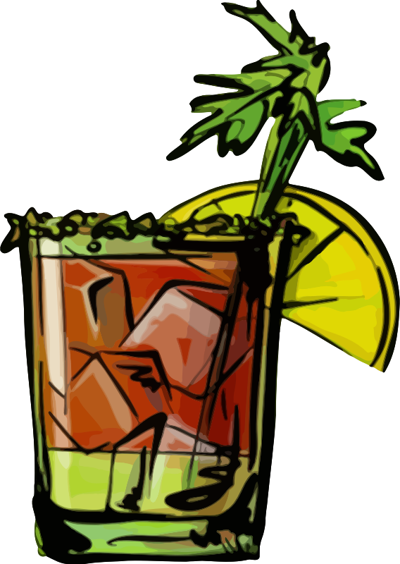 bloody mary drink clipart - photo #26
