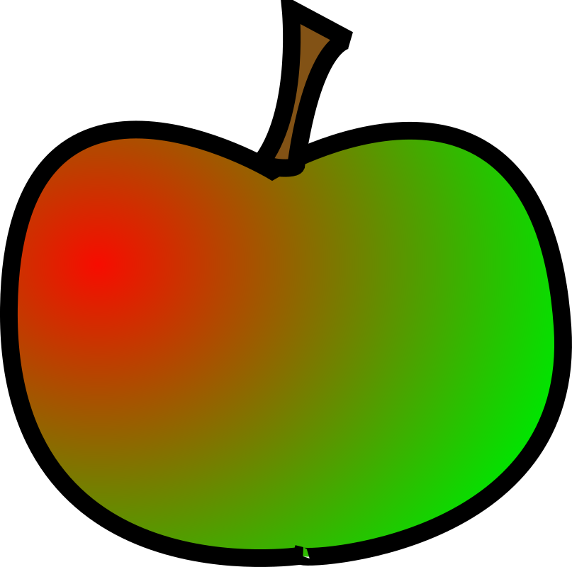 Apple by bogRanger - Simple apple, created in Inkscape