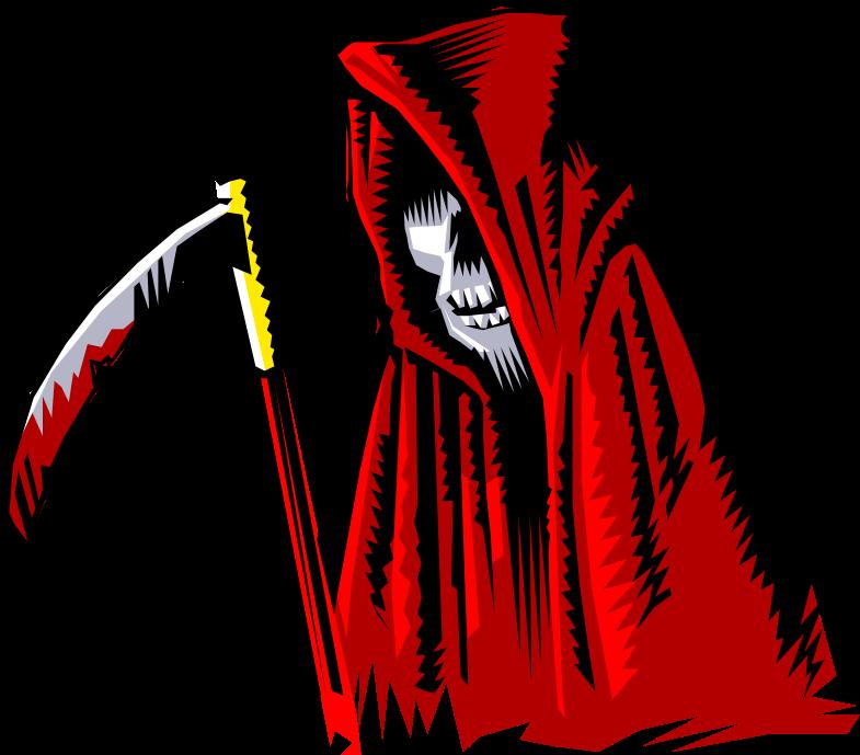 Clipart - grim reaper