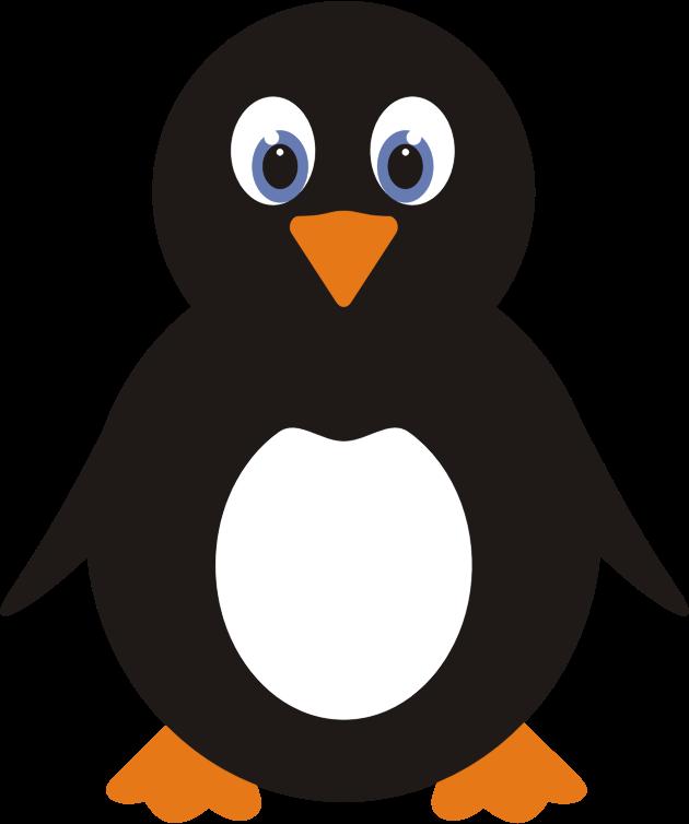 Clipart Cute Penguin