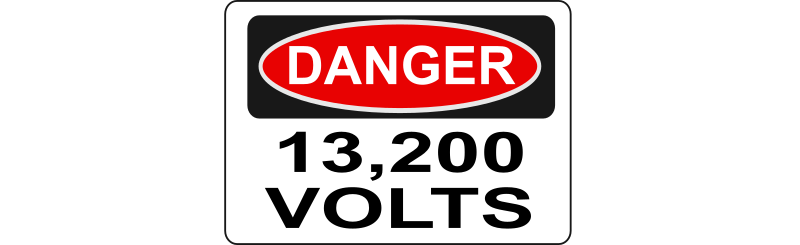 Danger - 13,200 Volts (Alt 2) by Rfc1394