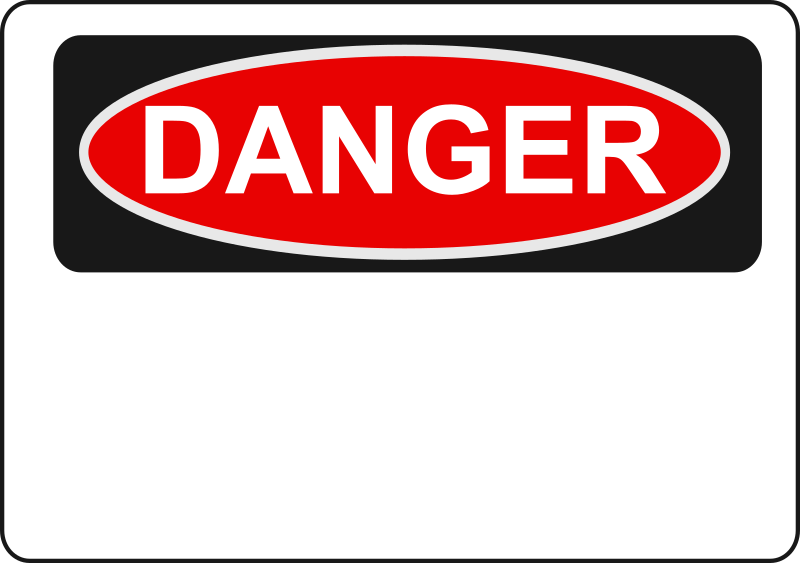 Danger - Blank by Rfc1394