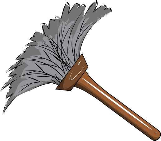 clipart feather duster rh openclipart org