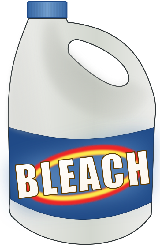 Bleach bottle by cwt - Bleach bottle, slightly in 3d