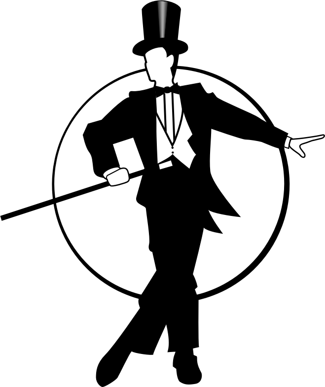 Clipart Honoring Fred Astaire Puttin On The Ritz