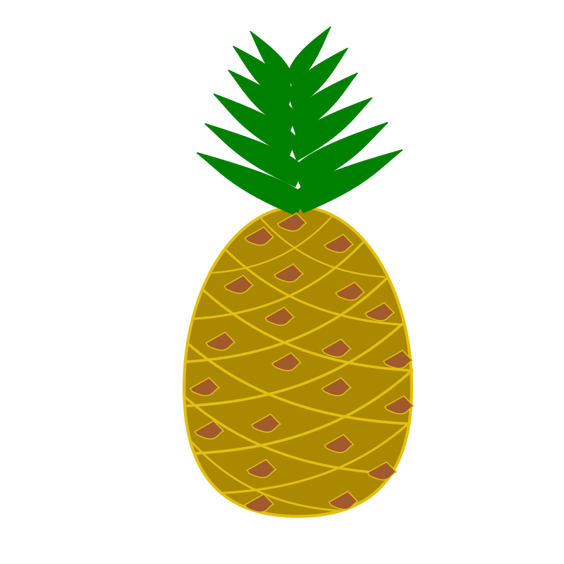 clipart pineapple pineapple clip art images free pineapple clip art images free