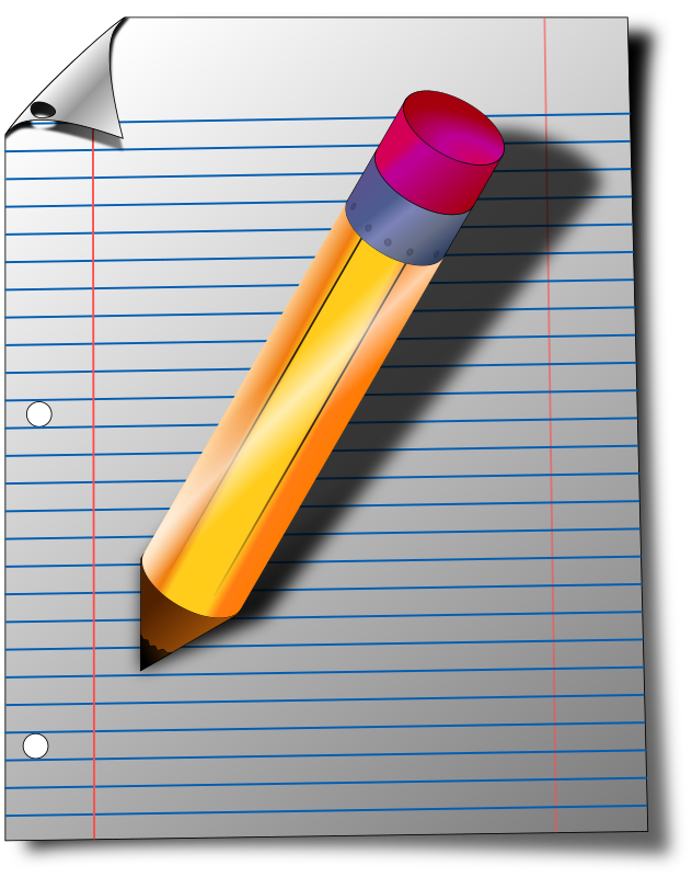 Notepad by MajinCline - Was originally going to be an icon for my notepad application but scaled up to larger sizes quite well.