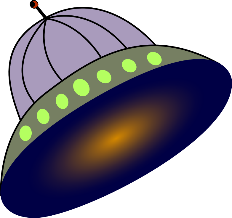 Clipart Flying Saucer