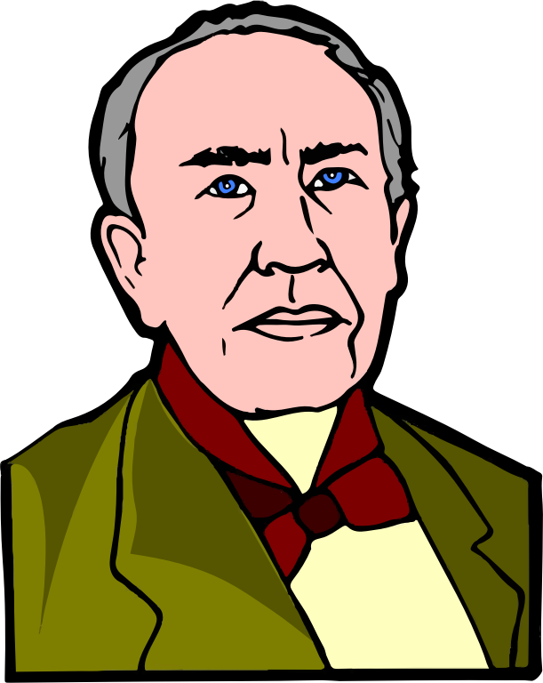 1989894 moreover Fpedison together with 1507811 also If We Did All together with Inventor 20clipart. on thomas edison