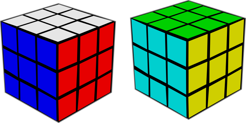 Clipart Rubik 39 S Cube