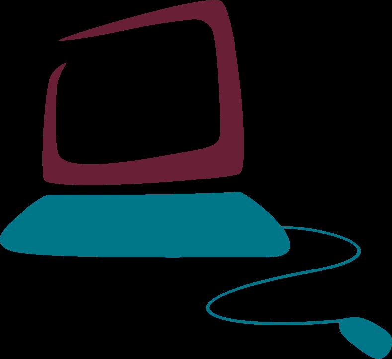 clipart computer logo remix