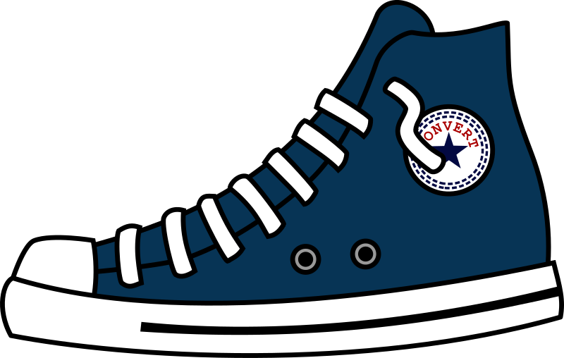 converse shoes clipart