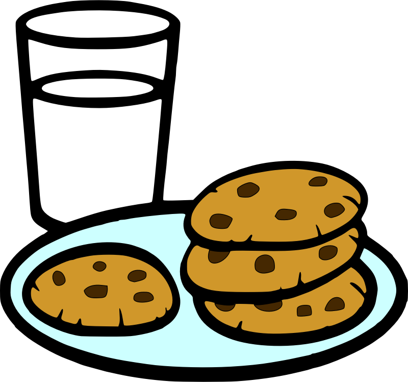 clipart cookies and milk chocolate chip cookies clipart recipe chocolate chip cookie clip art border