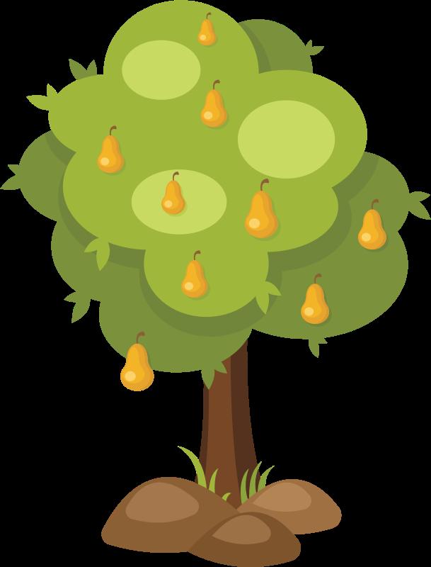 Clipart Pear Tree