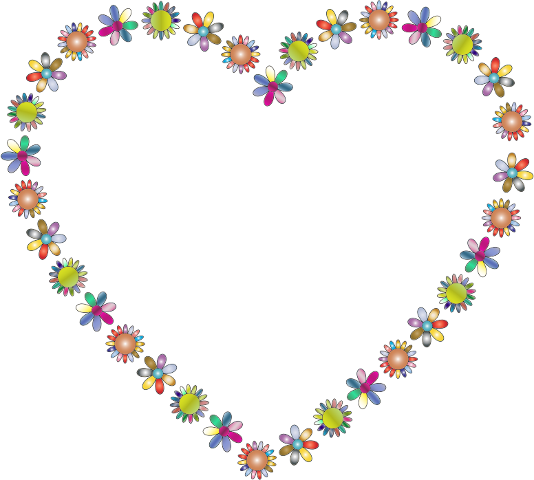 Clipart Floral Love Ii