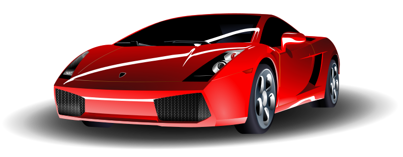 Red Sports Car by ryanlerch - a simple colour change remix of sports car by Micha? Pecyna.