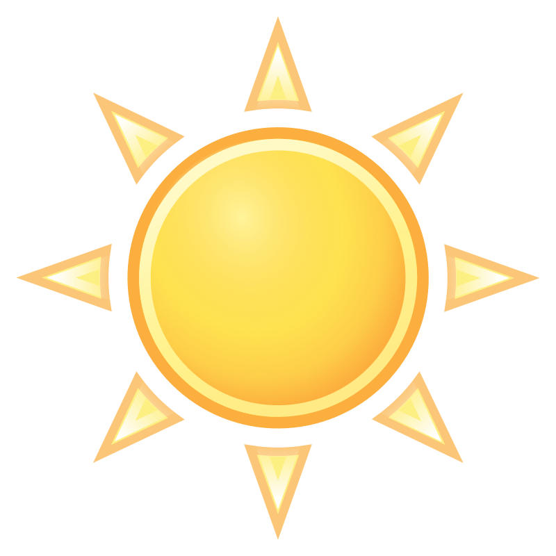 tango weather clear by warszawianka - Weather icon from Tango Project: http://tango.freedesktop.org/Tango_Desktop_Project <br><br> Tango Project icons are Public Domain.