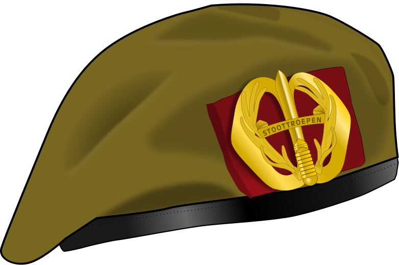Clipart - Dutch Military beret