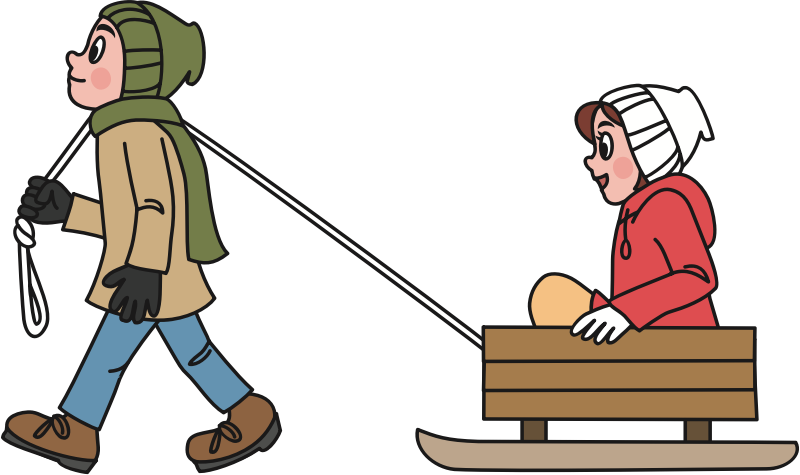 clipart pulling a sled female clipart for backgrounds female clipart icon