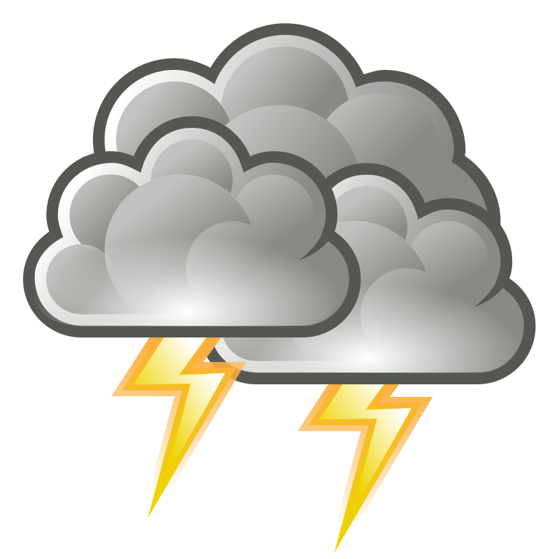tango weather storm by warszawianka - Weather icon from Tango Project: http://tango.freedesktop.org/Tango_Desktop_Project