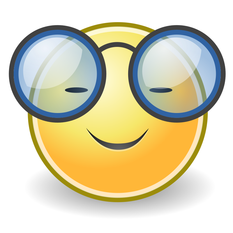 tango face glasses by warszawianka - Smiley icon from Tango Project: http://tango.freedesktop.org/Tango_Desktop_Project