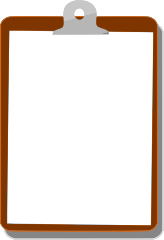 Clipart - Clipboard Background