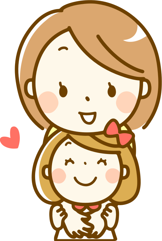 clipart mother and daughter   1 female clipart face female clipart for backgrounds