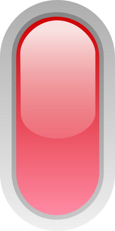 led rounded v red by jean_victor_balin - Glossy button with rounded corners by Jean-Victor Balin. From OCAL 0.18 release.