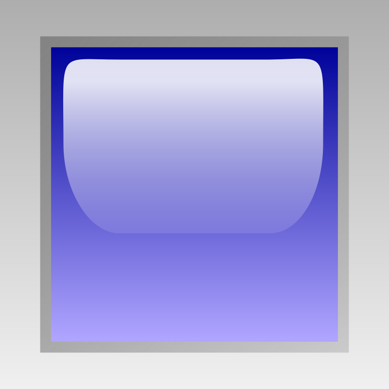 led square blue by jean_victor_balin - Glossy button by Jena-Victor Balin. From OCAL 0.18 release.