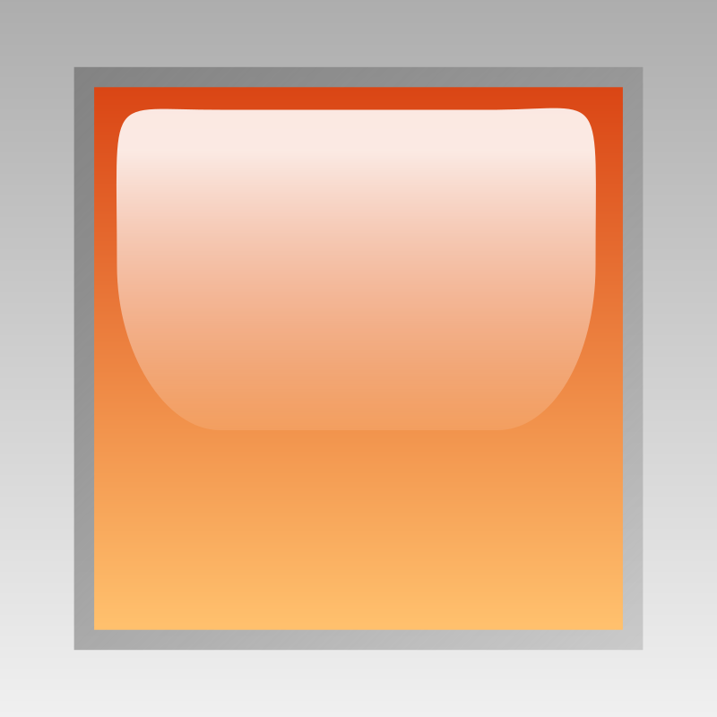 led square orange by jean_victor_balin - Glossy button by Jena-Victor Balin. From OCAL 0.18 release.