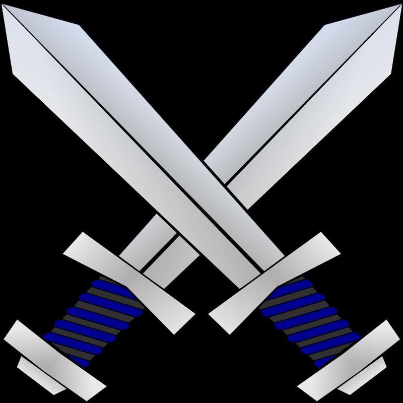Real Crossed Swords Crossed Swords