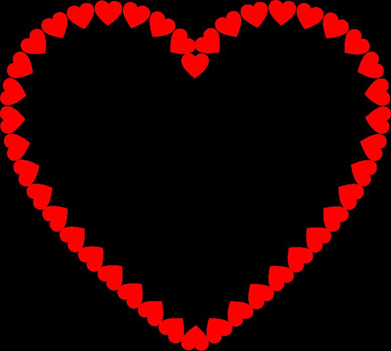 clipart heart fractal outline valentine heart clip art wreath valentine heart clipart free