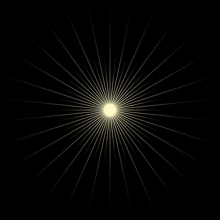 Clipart Bright Shining Sun