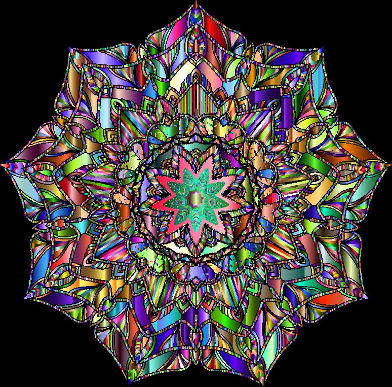clipart detailed hand drawn mandala chromatic clip art rainbow pictures clip art rainbow free