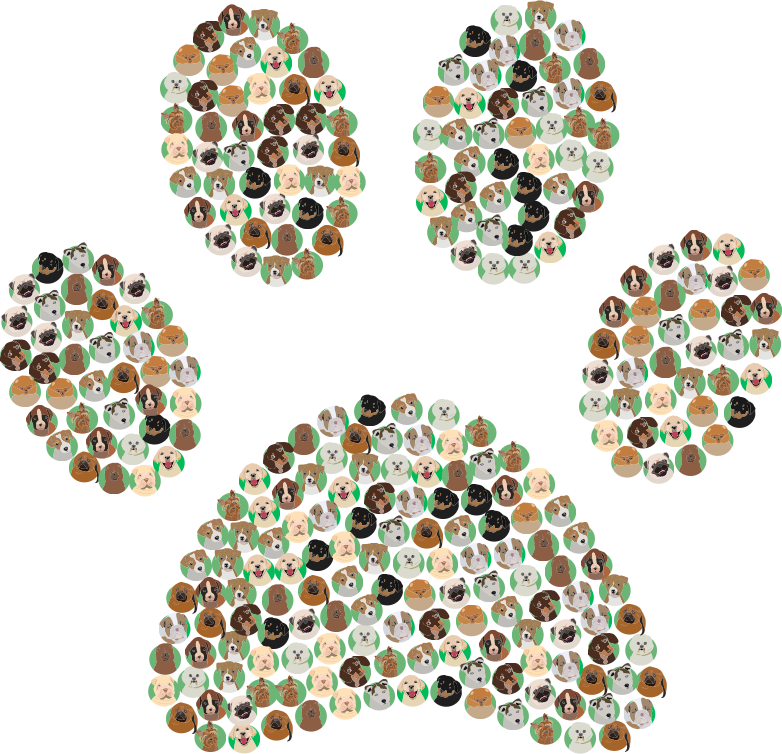 clipart dog breeds icons paw print clipart of dogs sitting under an umbrella clipart of dogs face