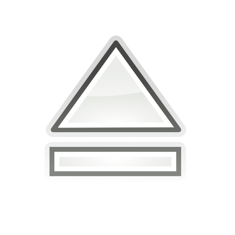"tango media eject by warszawianka - ""Eject"" icon from <A href=""http://tango.freedesktop.org/Tango_Desktop_Project""> Tango Project </A> 