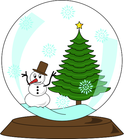 Big Red Today >> Clipart - Christmas frosty Decorative