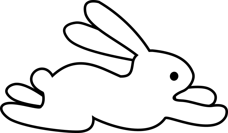 Questions >> Clipart - yep another rabbit