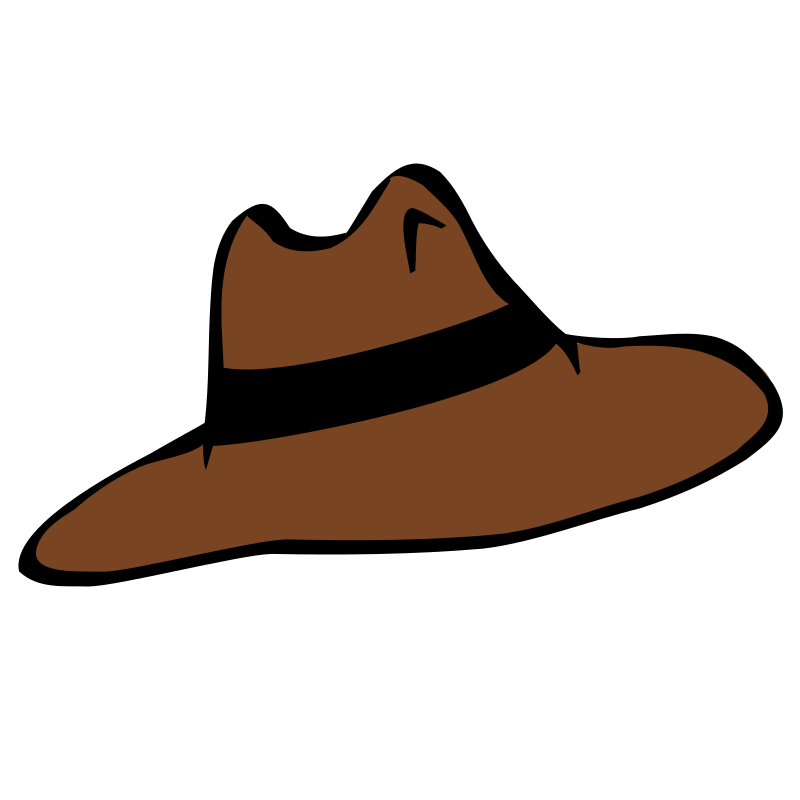 Hat by nicubunu - a simple brown hat
