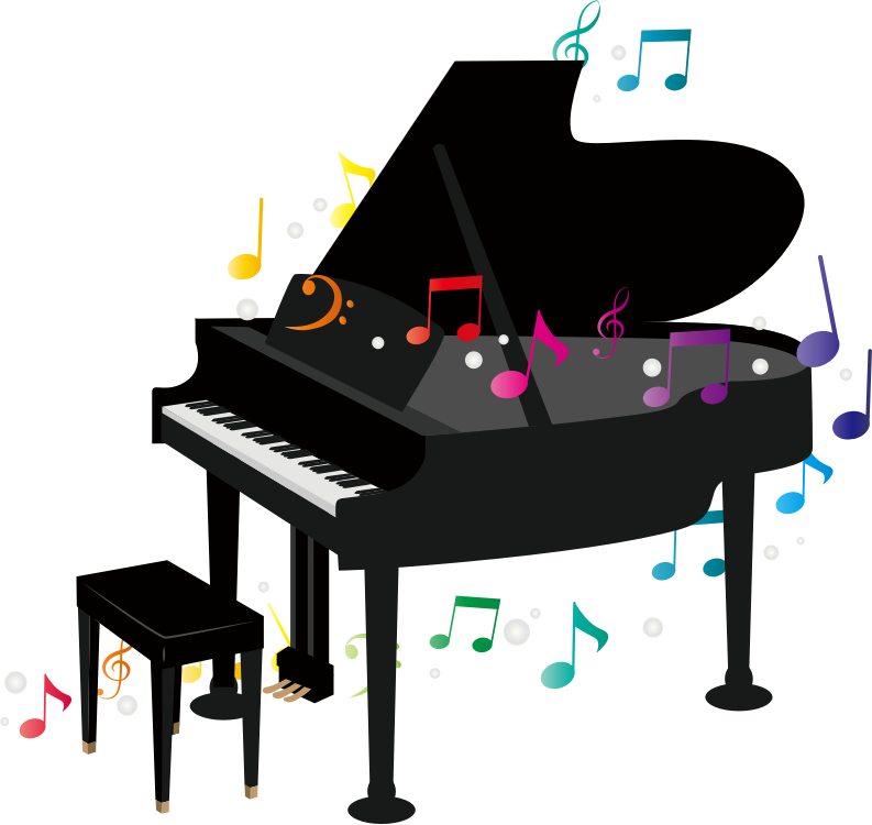clipart grand piano   3 music notes clip art free music notes clipart