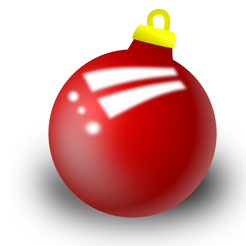 Clipart - xmas ornament